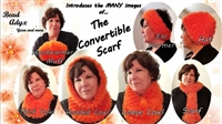 Convertible Scarf - Orange