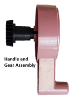 Handle and Gear Assembly- SENTRO 48 Needle Knitting Machine
