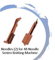 Needles (2) - 48 Needle SENTRO Knitting Machines