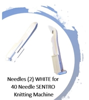 Needles (2) -  40 Needle SENTRO Knitting Machines