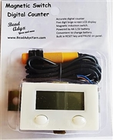 Magnetic Switch Digital Row Counter