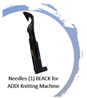 Needles (1) BLACK -  for ADDI Knitting Machines