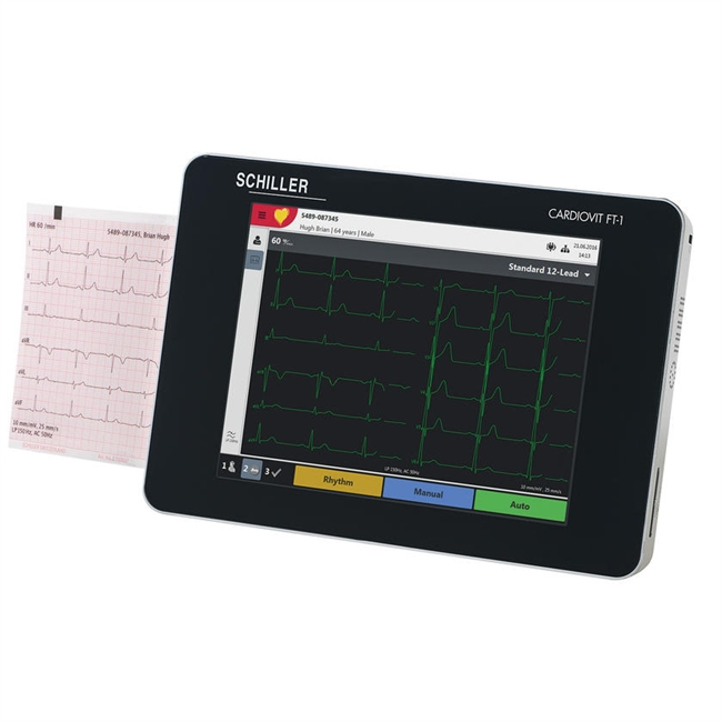 Schiller Cardovit FT-1 Interpretive EKG