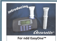 Accurette Sensor from SDI Diagnostics for Ndd Spirometers