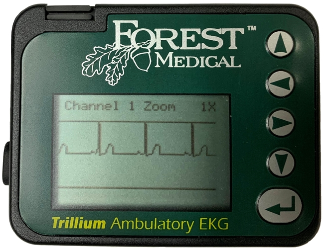 Forest Medical Trillium 7000 Recorder and Gold Software Holter System