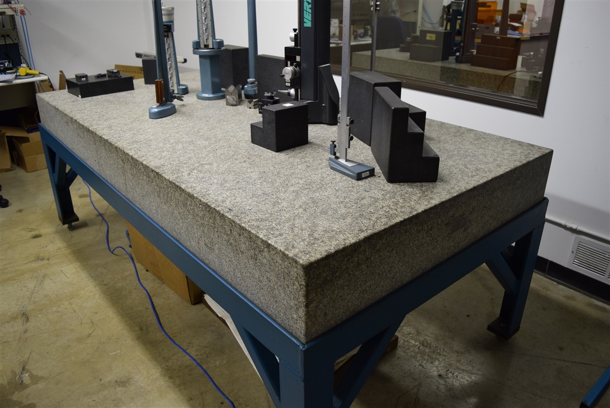 & Granite Surface Plate | Heavy Duty Stand