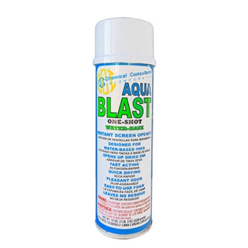 "CCI ""Aqua Blast"" Water Based Screen Opener"