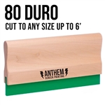 Custom Cut Wooden Squeegee - 80 Duro
