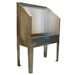 CCI E44S Stainless Steel Washout Booth