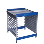 CCI Half Rack Screen Rack Cart