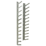 12 Squeegee Rack / Holder - Table or Wall Mount