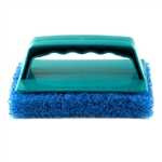 Scrub Brush With Pad - Blue