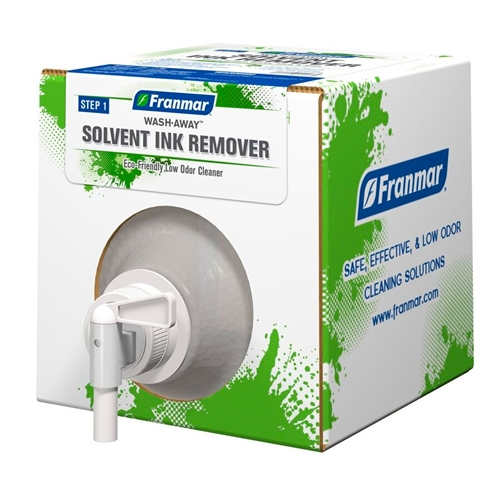 Franmar Wash Away Non-Textile Ink Cleaner - GALLON