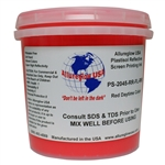 Allureglow Red Plastisol Reflective Ink