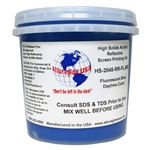 Allureglow Blue HSA Water Based Reflective Ink