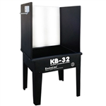 KB-32 ECO Washout Booth With Backlights