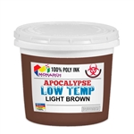 Monarch Low Temp Poly/Poly Blend Plastisol Ink - Light Brown