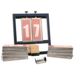 Screen Printing Number System