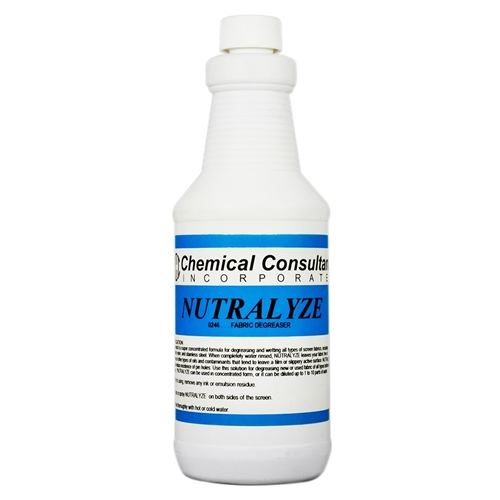 """Nutralyze"" Concentrated Screen Degreaser - QUART"