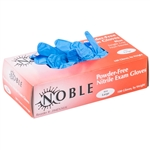 Blue Nitrile Ink Gloves - 100 Pack
