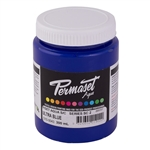Permaset Aqua Supercover Ink - Ultra Blue - 300ml