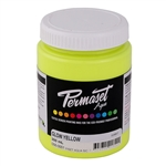 Permaset Aqua Supercover Ink - Glow Yellow - 300ml