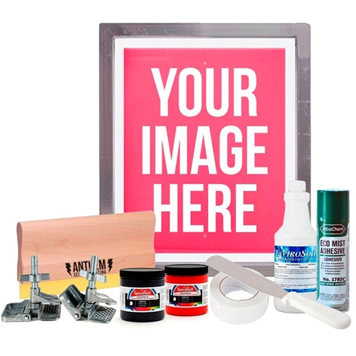 The Rock Paper Squeegee DIY Poster Printing Kit