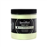 Speedball Permanent Acrylic Ink - Glow White - 8 oz.