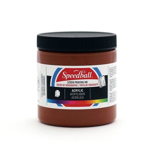 Speedball Acrylic Ink - Brown - 8 oz.