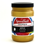 Speedball Acrylic Ink - Gold - 32 oz.