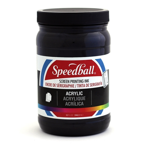 Speedball Acrylic Ink - Black - 32 oz.