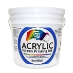 Speedball Acrylic Ink - White - 1 Gal.