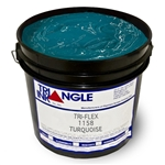 Triangle Screen Printing Ink - Turquoise