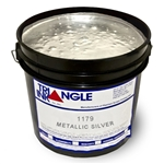 Triangle Screen Printing Ink - Metallic Silver