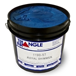 Triangle Screen Printing Ink - Royal Blue Shimmer