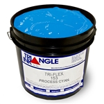 Triangle Plastisol Ink - Process Cyan