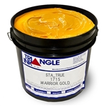 Triangle Plastisol Ink - Warrior Gold