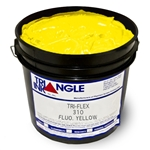 Triangle Plastisol Ink - Fluorescent Yellow