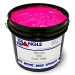 Triangle Plastisol Ink - Fluorescent Pink