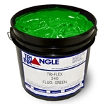 Triangle Plastisol Ink - Fluorescent Green