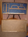 1930's Oldsmobile  Garage Gasket Display