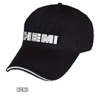 Hemi liquid metal men's hat