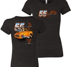57 Chevy Ladies Tee's