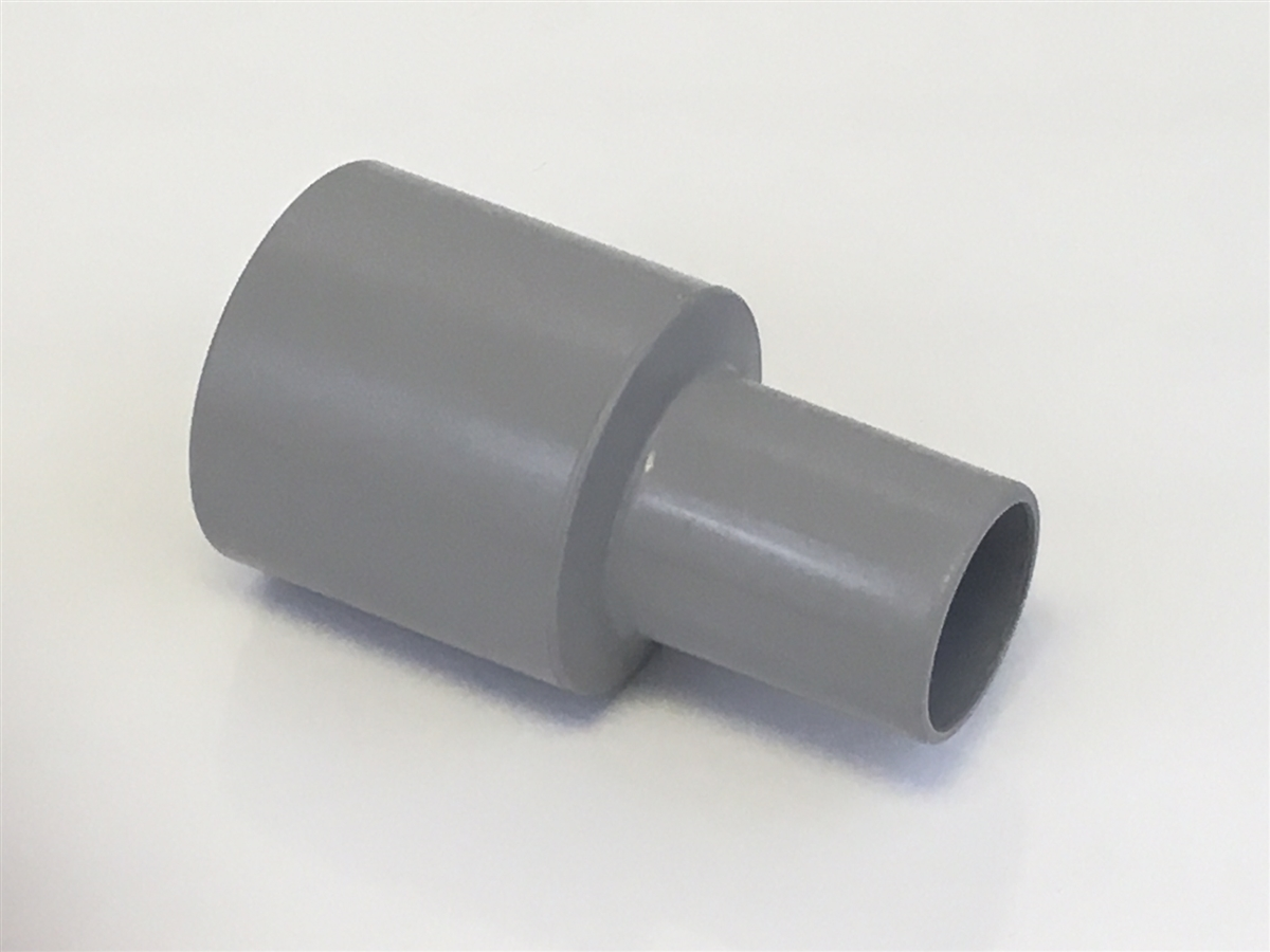 """Set of 2 GREY Carpet Cleaning CUFF 1.5/"""" for Wand Hoses"""
