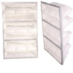"8 Pocket Bag Filter 23""x47""x8"" (4/CS)"