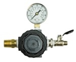 Air Regulator 75 CFM / Guage & Valve
