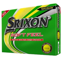 Srixon Soft Feel 12 Yellow Golf Balls