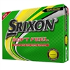 Srixon Soft Feel 12 Personalized Yellow Golf Balls