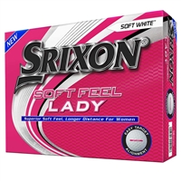 Srixon Soft Feel 7 Ladies White Golf Balls