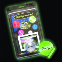 Glow Flyer Lighted Golf Ball with Stick